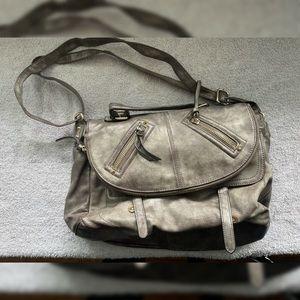 Gray Aldo Purse Messenger Bag